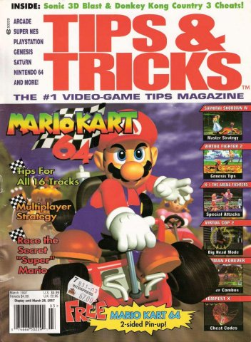 Tips & Tricks Issue 025 March 1997