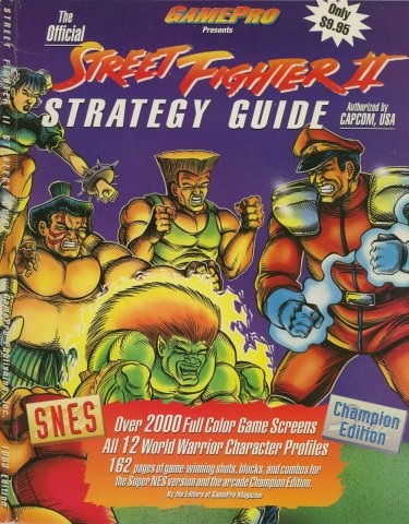 Street Fighter II Official Strategy Guide  Cover B.jpg