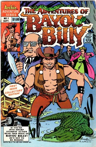 The Adventures Of Bayou Billy Issue 01 September 1989