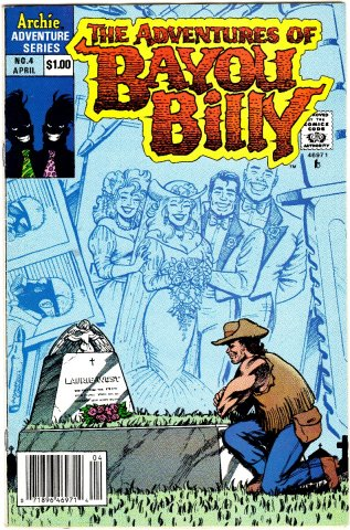 The Adventures Of Bayou Billy Issue 04 April 1990