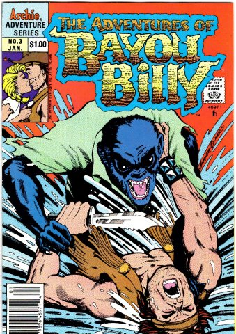 The Adventures Of Bayou Billy Issue 03 January 1990