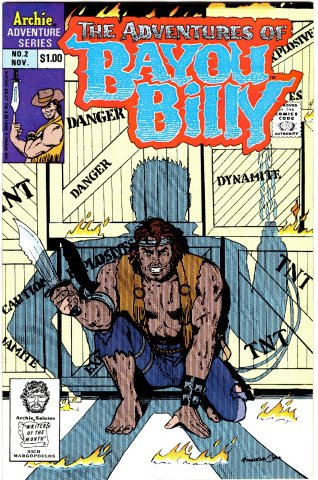The Adventures Of Bayou Billy Issue 02 November 1989