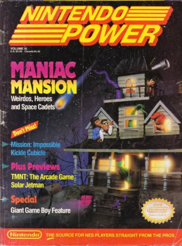 Nintendo Power Issue 016 (September/October 1990)