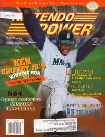 Nintendo Power Issue 084 (May 1996)
