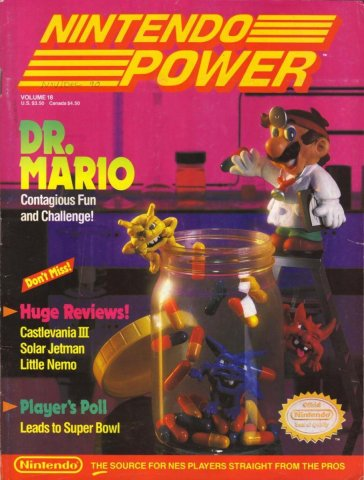 Nintendo Power Issue 018 (November/December 1990)