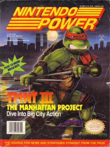 Nintendo Power Issue 033 (February 1992)