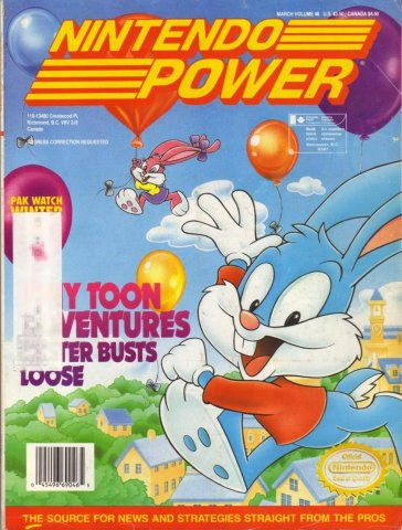 Nintendo Power Issue 046 (March 1993)