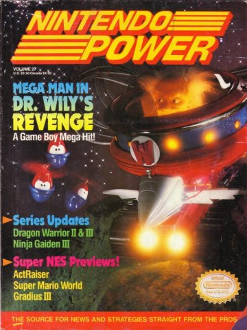 Nintendo Power Issue 027 (August 1991)