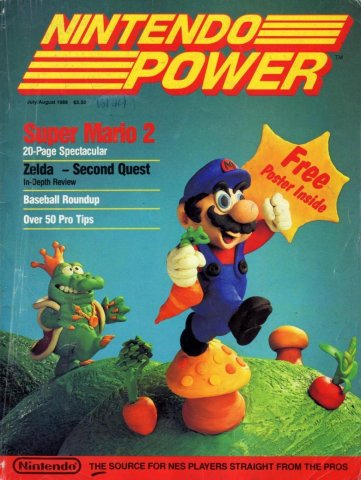 Nintendo Power Issue 001 (July/August 1988)