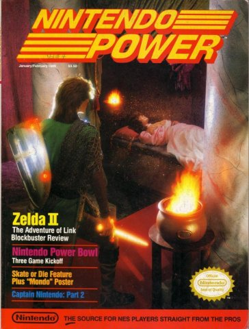 Nintendo Power Issue 004 (January/February 1989)