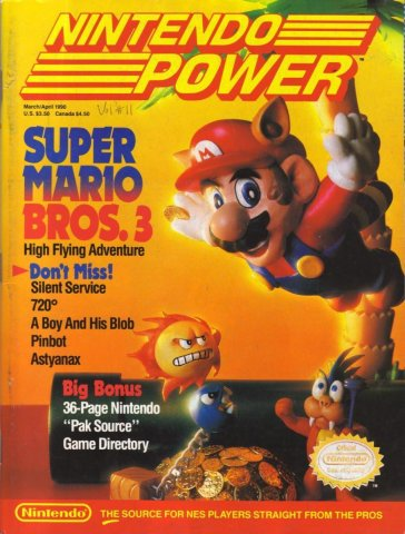 Nintendo Power Issue 011 (March/April 1990)