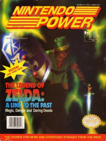 Nintendo Power Issue 034 (March 1992)