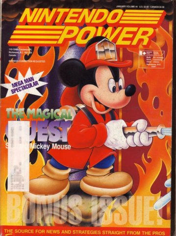 Nintendo Power Issue 044 (January 1993)