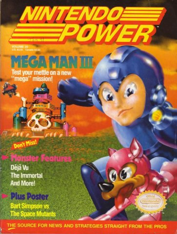 Nintendo Power Issue 020 (January 1991)