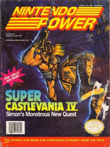 Nintendo Power Issue 032 (January 1992)