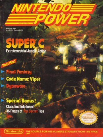 Nintendo Power Issue 012 (May/June 1990)