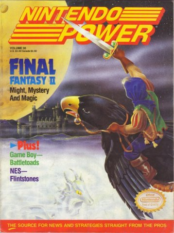 Nintendo Power Issue 030 (November 1991)