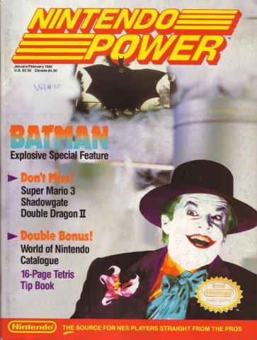 Nintendo Power Issue 010 (January/February 1990)