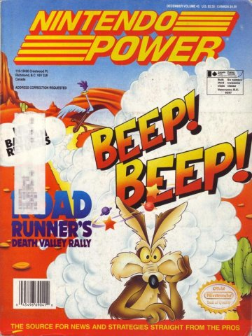 Nintendo Power Issue 043 (December 1992)