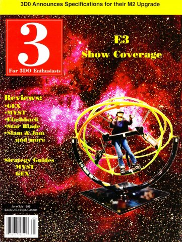 3 For 3DO Enthusiasts Issue 04 June/July 1995