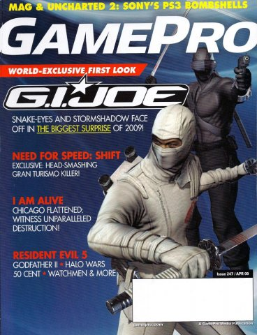 GamePro Issue 247 April 2009