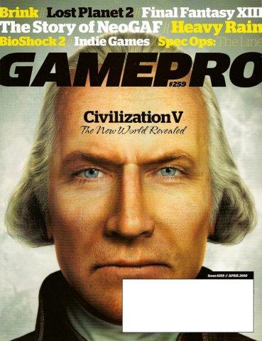 GamePro Issue 259 April 2010