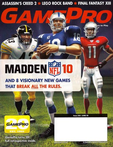 GamePro Issue 249 June 2009 (Subscribers Cover)