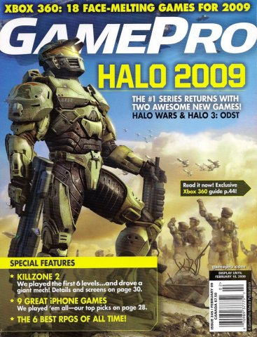 GamePro Issue 245 February 2009
