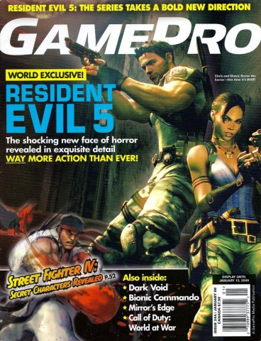 GamePro Issue 244 January 2009