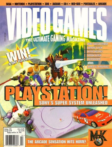 Video Games Issue 81 October 1995