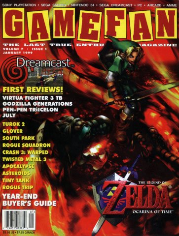 Gamefan Issue 66 January 1999 (Volume 7 Issue 1)