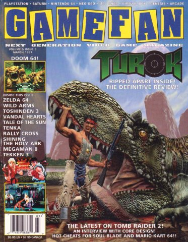 Gamefan Issue 51 March 1997 (Volume 5 Issue 3)