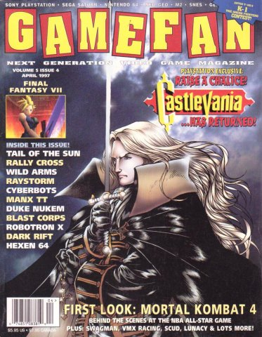 Gamefan Issue 52 April 1997 (Volume 5 Issue 4)