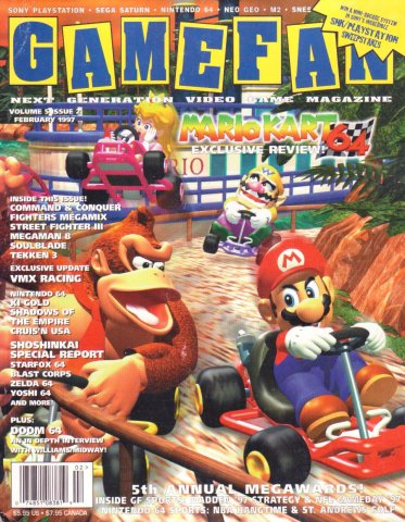 Gamefan Issue 50 February 1997 (Volume 5 Issue 2)
