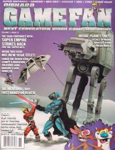 Gamefan Issue 12 November 1993 (Volume 1 Issue 12)