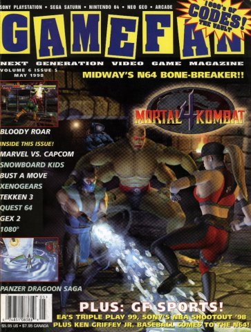 Gamefan Issue 63 May 1998 (Volume 6 Issue 5)