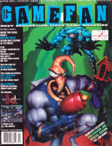 Gamefan Issue 26 February 1995 (Volume 3 Issue 2)