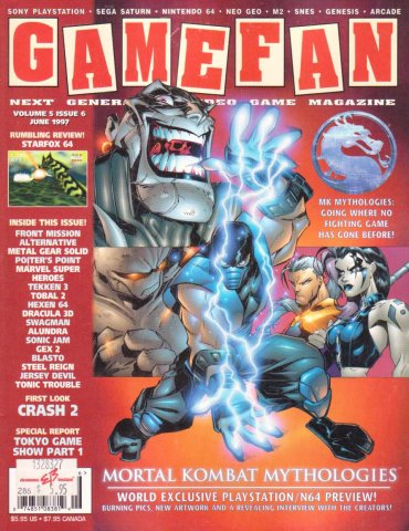 Gamefan Issue 54 June 1997 (Volume 5 Issue 6)