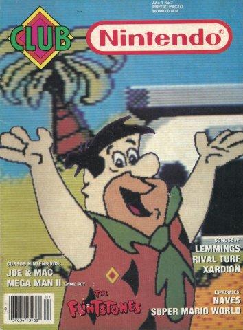 Club Nintendo (Mexico) Volume 1 Issue 07 June 1992