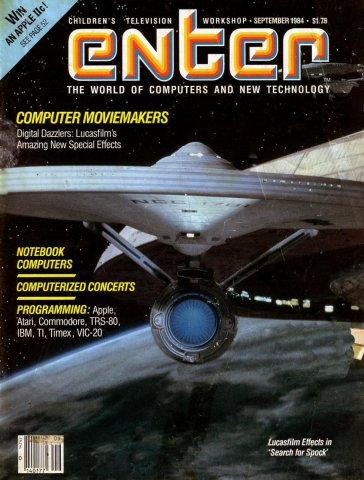 Enter Issue 10 September 1984