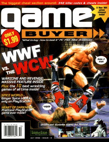 Game Buyer Issue 4 October 1998