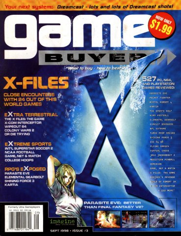 Game Buyer Issue 3 September 1998