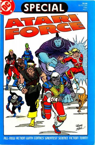 Special Atari Force Issue 01 1986