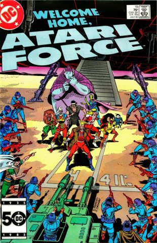 Atari Force Issue 19 July 1985