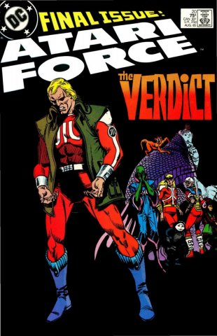 Atari Force Issue 20 August 1985