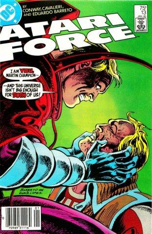Atari Force Issue 13 January 1985