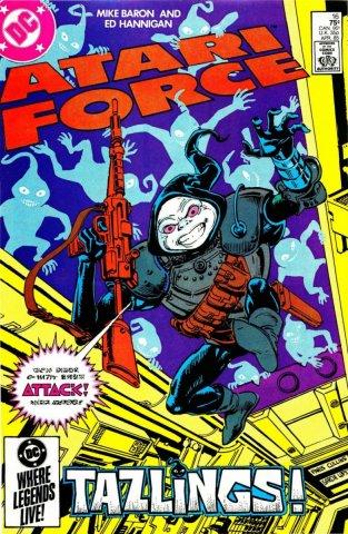 Atari Force Issue 16 April 1985