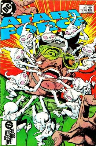 Atari Force Issue 17 May 1985