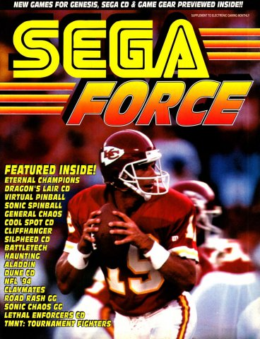 Sega Force Issue 4 November 1993