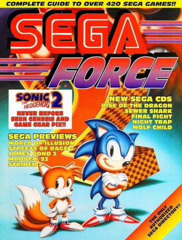 Sega Force Issue 2 November 1992